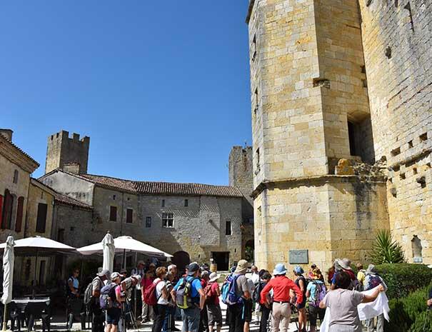 groupe touristique visite chateau moulin neuf