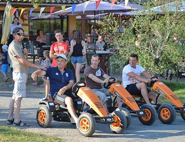 course de kart relais du moulin neuf vacances d'été