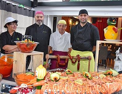 équipe restauration cuisine relais du moulin neuf barbaste