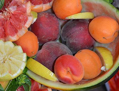 fruits vacances d'été sud ouest du potager du relais du moulin neuf