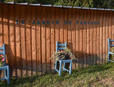 jardin du partage potager relais du moulin neuf