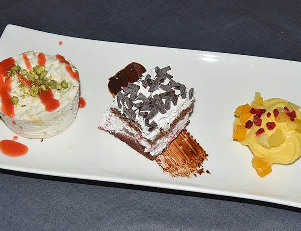 nougat glacé dessert pour mariage et séminaire relais du moulin neuf sud ouest