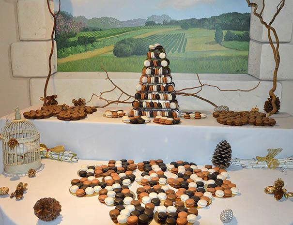 macarons mariage dessert au relais du moulin neuf sud ouest