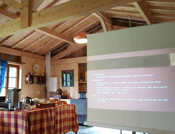 réunion séminaire cabane relais du moulin neuf