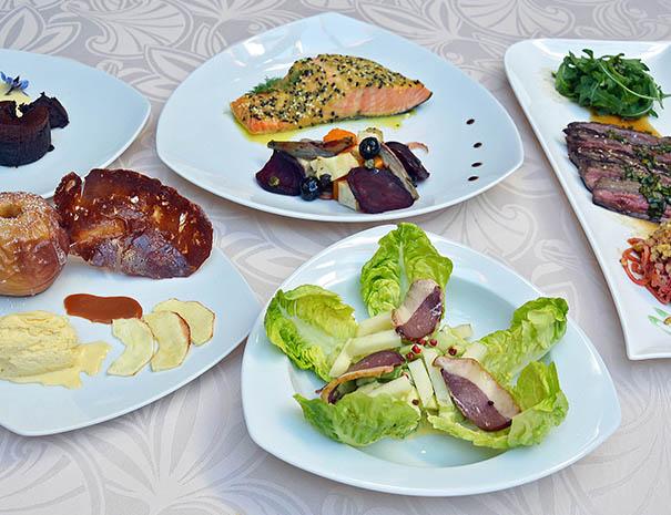 table des saisons cuisine pour séminaire meeting relais du moulin neuf