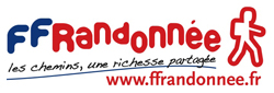 logo FFRP Fédération française de la randonnée pédestre