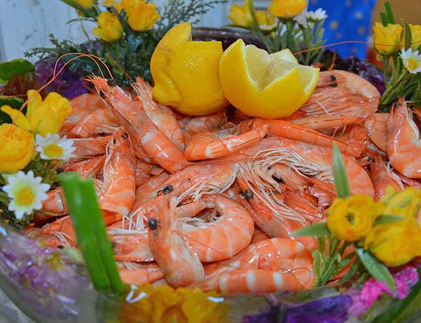 crevettes fraiches productions locales relais du moulin neuf