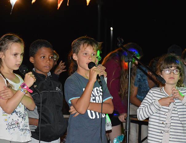 karaoké club enfants vacances été relais du moulin neuf