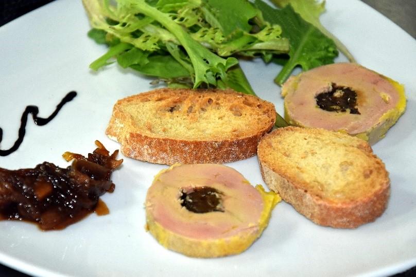 Médaillon de foie gras Relais du Moulin Neuf