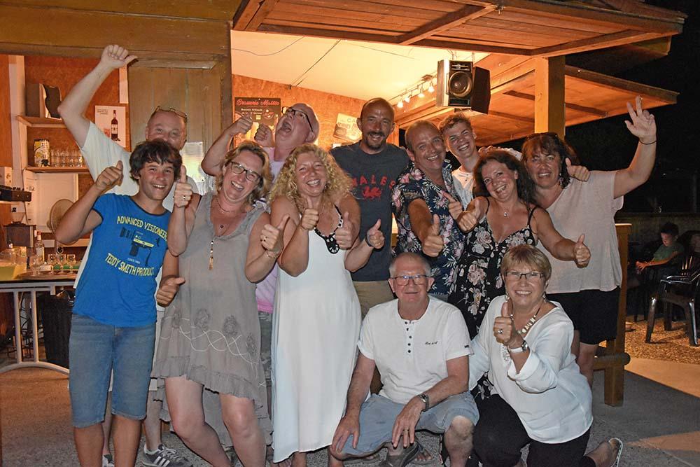 convivialité vacances d'été au Relais du Moulin neuf gascogne sud ouest